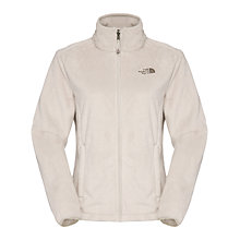 Buy The North Face Osito Fleece Jacket, Ivory Online at johnlewis.com