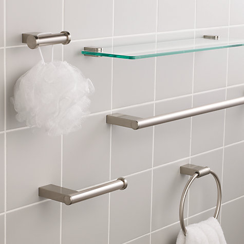 Buy John Lewis Satin Bathroom Fitting Range Online at johnlewis.com