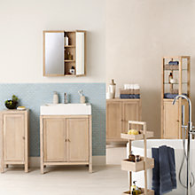 Buy John Lewis Heywood Bathroom Furniture Range Online at johnlewis.com