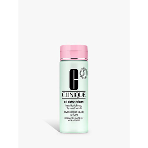 Buy Clinique Liquid Facial Soap - Mild, 200ml Online at johnlewis.com