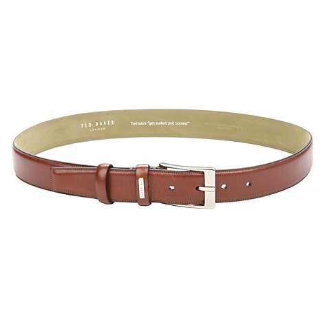 Buy Ted Baker Johnjo Classic Leather Belt Online at johnlewis.com