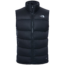 Buy The North Face Nuptse Down Men's Gilet, Black Online at johnlewis.com