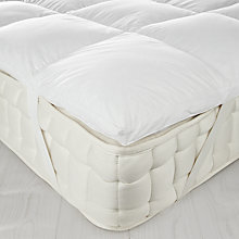 Buy John Lewis New Duck Down Mattress Topper Online at johnlewis.com