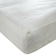 Buy John Lewis New Anti Allergen Enclosed Mattress Protector, Depth 32cm Online at johnlewis.com