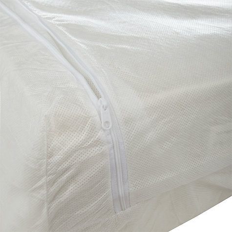 Buy John Lewis Anti Allergen Enclosed Mattress Protector, Depth 32cm Online at johnlewis.com