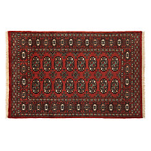 Buy John Lewis Pakistan Bokhara Handmade Rug, Terracotta Online at johnlewis.com