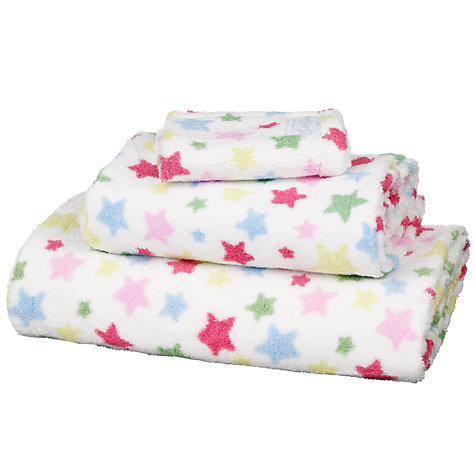 Buy Cath Kidston Shooting Stars Towels, Multi Online at johnlewis.com