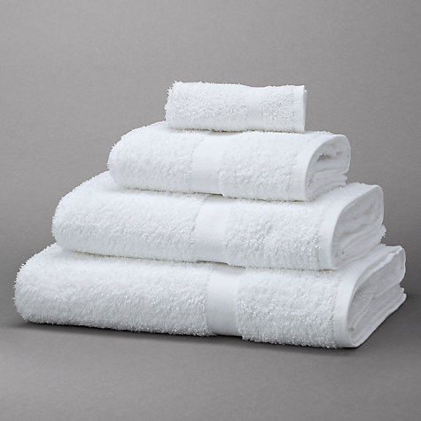Buy John Lewis The Basics Cotton Towels Online at johnlewis.com
