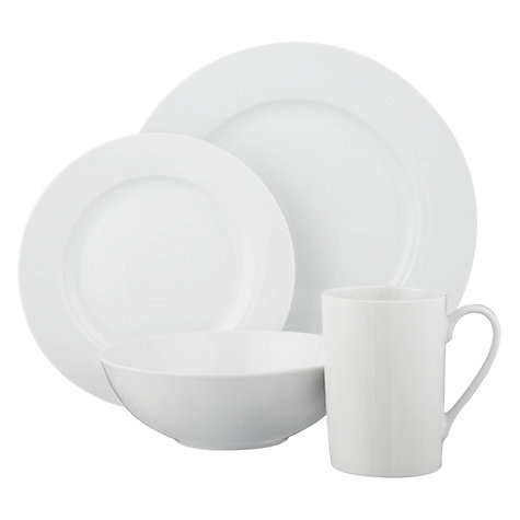 Buy John Lewis Value Porcelain Tableware Online at johnlewis.com