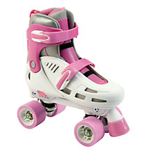 Buy SFR Storm Racing Adjustable Roller Skates, Pink/White Online at johnlewis.com