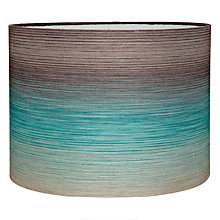 Buy Harlequin Hazan Drum Shade, Teal Online at johnlewis.com