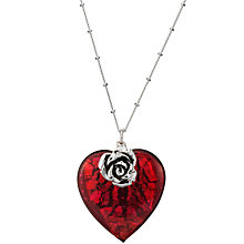 Buy Martick Jewellery Bohemian Glass Heart Necklace Online at johnlewis.com