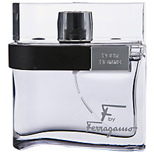 Buy Ferragamo F By Ferragamo Pour Homme Black Eau de Toilette Online at johnlewis.com