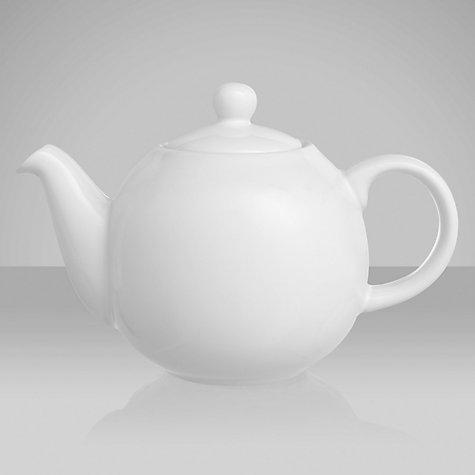 Buy London Pottery Teapot White John Lewis
