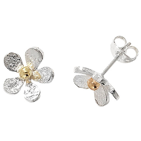 Buy Linda Macdonald Daisies Stud Earrings Online at johnlewis.com