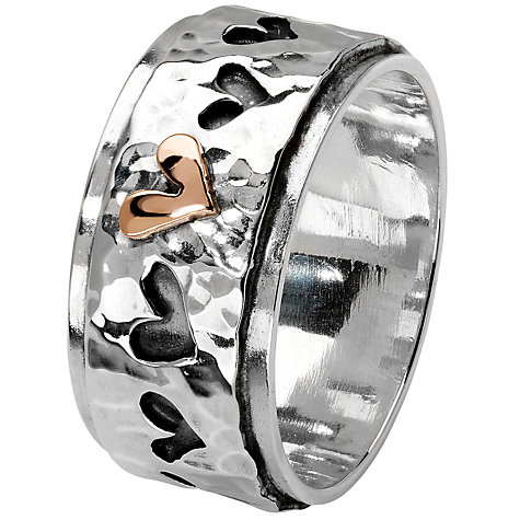 Buy Linda Macdonald With Love Ring, N Online at johnlewis.com