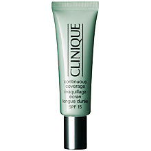 Buy Clinique Continuous Coverage Foundation - All Skin Types, 30ml Online at johnlewis.com