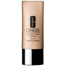 Buy Clinique Perfectly Real Makeup Foundation - Dry Combination to Oily Combination Skin Types, 30ml Online at johnlewis.com