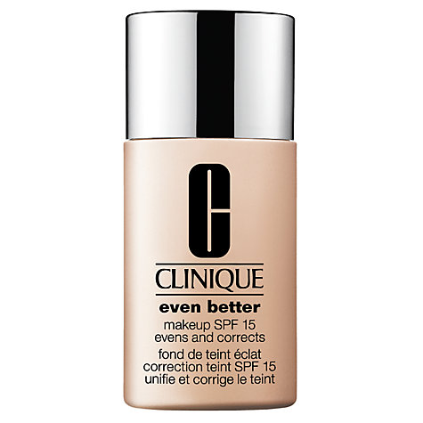 Buy Clinique Even Better Makeup SPF15 - Normal to Combination Oily Skin Types, 30ml Online at johnlewis.com
