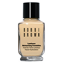 Buy Bobbi Brown Luminous Moisturizing Foundation Online at johnlewis.com