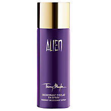 Buy Thierry Mugler Alien Radiant Deodorant Spray Online at johnlewis.com