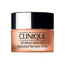 Buy Clinique All About Eyes Rich, 15ml Online at johnlewis.com