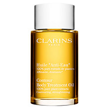 Buy Clarins Body Treatment Oil - Contouring/Strengthening Online at johnlewis.com
