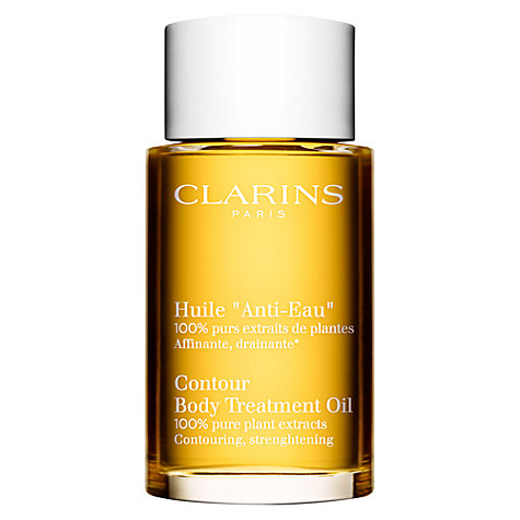 clarins body treatment oil how to use