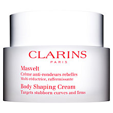 Buy Clarins Body Shaping Cream Online at johnlewis.com