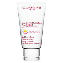 Buy Clarins Radiance-Plus Self Tanning Body Lotion Online at johnlewis.com