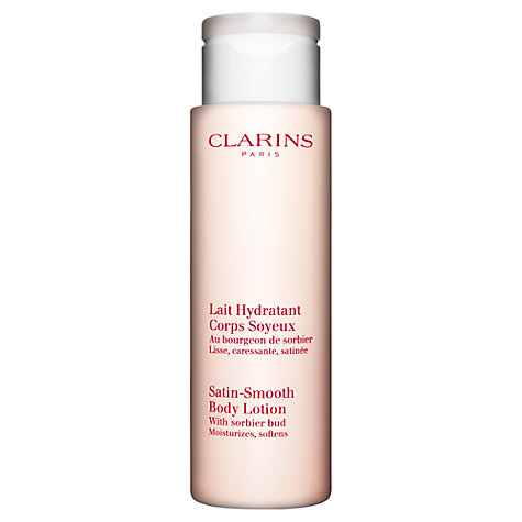Buy Clarins Satin-Smooth Body Lotion Online at johnlewis.com