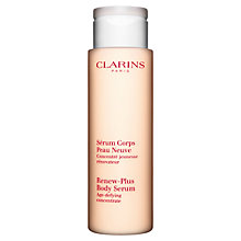 Buy Clarins Renew-Plus Body Serum Online at johnlewis.com