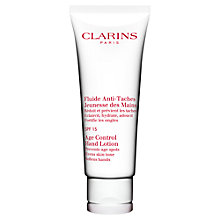 Buy Clarins Age-Control Hand Lotion SPF15 Online at johnlewis.com
