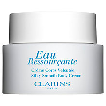 Buy Clarins Eau Ressourçante Silky Smooth Body Cream Online at johnlewis.com