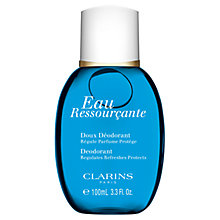 Buy Clarins Eau Ressourçante Fragranced Gentle Deodorant Online at johnlewis.com
