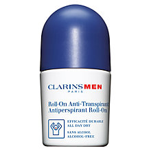 Buy ClarinsMen Anti-Perspirant Deodorant Roll-On, 50ml Online at johnlewis.com