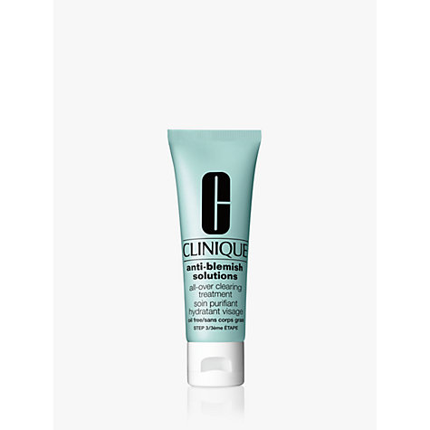 Buy Clinique Anti-Blemish Solutions All Over Clearing Treatment, 50ml Online at johnlewis.com