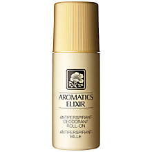 Buy Clinique Aromatics Elixir Anti-Perspirant Deodorant, 75ml Online at johnlewis.com