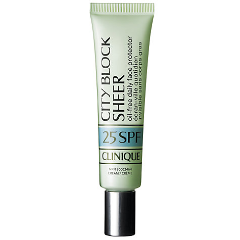Buy Clinique City Block Sheer SPF 25, 40ml Online at johnlewis.com
