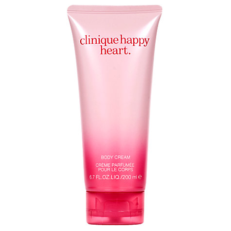 Buy Clinique Happy Heart Body Cream, 200ml Online at johnlewis.com