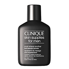 Buy Clinique Post-Shave Soother Anti Blemish Formula, 75ml Online at johnlewis.com