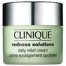 Buy Clinique Redness Solutions Daily Relief Cream - For All Skin Types With Redness, 50ml Online at johnlewis.com