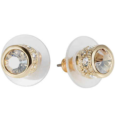 Buy Cachet Gold Brilliant Earrings Online at johnlewis.com