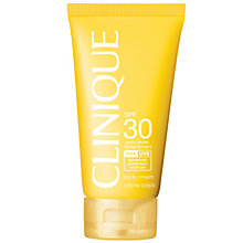 Buy Clinique Body Cream SPF30, 150ml Online at johnlewis.com