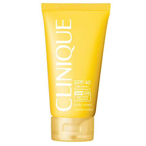 Buy Clinique Body Cream SPF40, 150ml Online at johnlewis.com