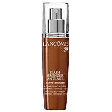 Buy Lancôme Flash Bronzer Anti-Age Light Online at johnlewis.com