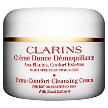 Buy Clarins Extra-Comfort Cleansing Cream Online at johnlewis.com