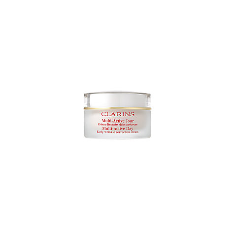 Buy Clarins Multi-Active Day Early Wrinkle Correction Cream, 50ml Online at johnlewis.com