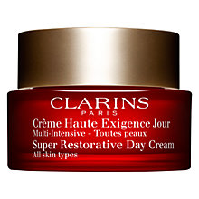 Buy Clarins Super Restorative Day Cream Online at johnlewis.com