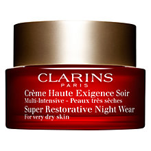 Buy Clarins Super Restorative Night Wear, 50ml Online at johnlewis.com